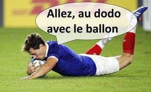 Baptiste Serin et le XV de France n'ont que trois jours de repos avant de jouer les Tonga