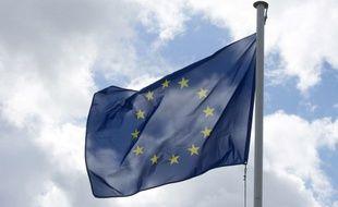 Le drapeau européen flotte au vent, le 2 juillet 2016.