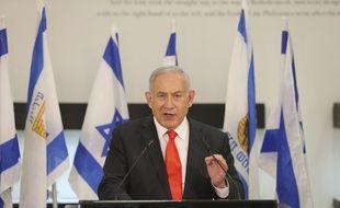 Benjamin Netanyahu le 8 septembre 2020 à Beit Shemesh