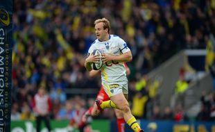 Nick Abendanon a été élu joueur de l'année en Coupe d'Europe de rugby, le 5 mai 2015.