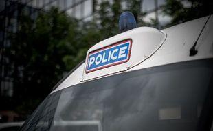 Une voiture de Police, le 29 Mai 2019. Crédit: NICOLAS MESSYASZ/SIPA.