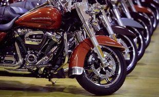 Des motos Harley Davidson (illustration).