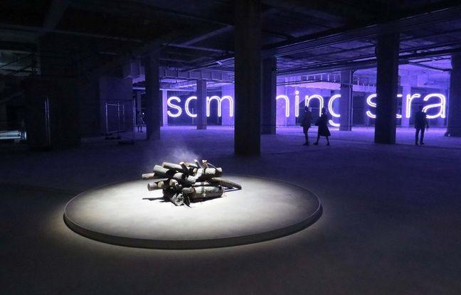 L'exposition «Outside» de Daniel Firman au Carré Feydeau.