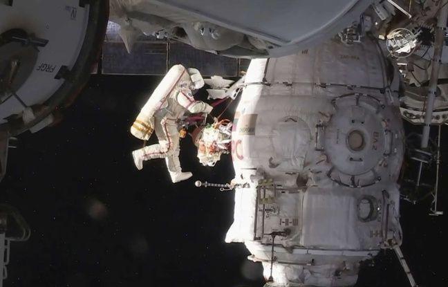 Espace: Trois astronautes reviennent sur Terre après une mission sur l'ISS