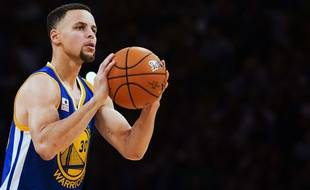 Stephen Curry au All Star Game le 13 février 2016.