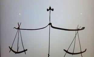 La balance de la justice (illustration).