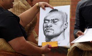 Un portrait de Jonah Lomu, décédé le 18 novembre 2015 à l'âge de 40 ans.