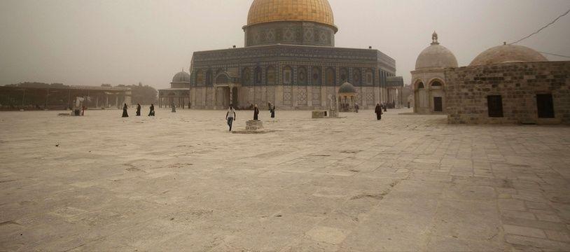 L'esplanade des Mosquées à Jérusalem.