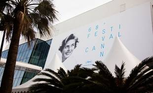 Illustration of the 68th Festival of Cannes. Cannes, France - 11/05/2015/COLLET/Credit:COLLET GUILLAUME/SIPA/1505120740