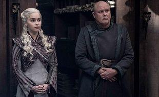 Emilia Clarke et Conleth Hill dans la huitième saison de «Game of Thrones».
