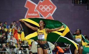 La Jamaïcaine Shelly-Ann Fraser-Pryce a conservé son titre de championne olympique du 100 m dans le temps de 10 sec 75/100e (vent +1,5 m/s) samedi aux jeux Olympiques de Londres.