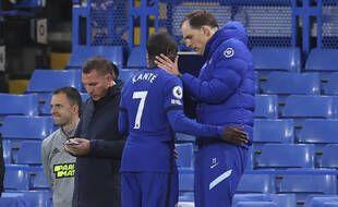 Thomas Tuchel s'est montré plutôt rassurant après la sortie prématurée de N'Golo Kanté lors de Chelsea-Leicester, mardi soir.