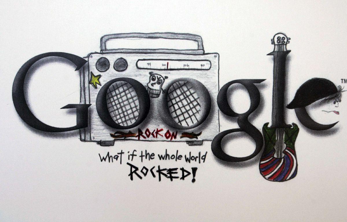 Un Doodle exposé au Doodle Museum de Google en Californie – Paul Sakuma/AP/SIPA