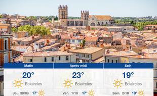 Météo Montpellier: Prévisions du mercredi 29 septembre 2021