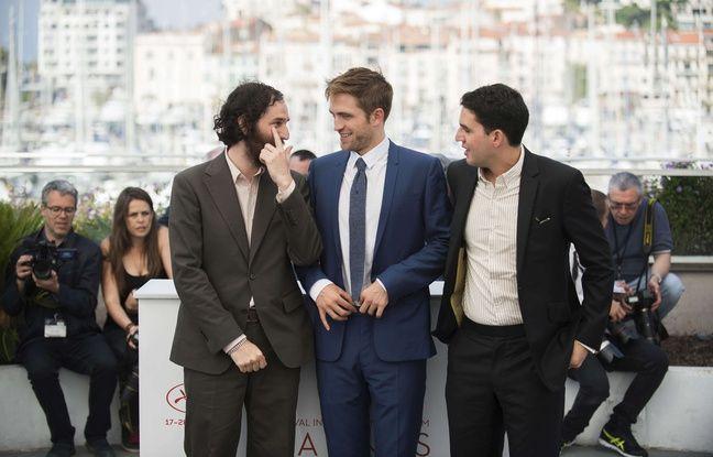 Robert Pattinson et les frères Safdie à Cannes le 25 mai 2017