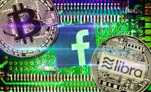 Dix ans après l'arrivée du Bitcoin, Facebook espère lancer la cryptomonnaie Libra en 2020.