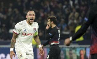 Memphis Depay, face à Leipzig en Ligue des champions