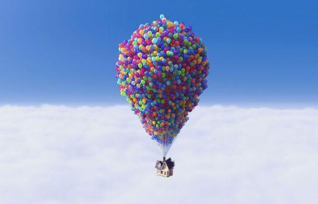 """Condamné à 5.000 dollars d'amende pour avoir essayé de voler avec des ballons comme dans """"Là-haut"""""""