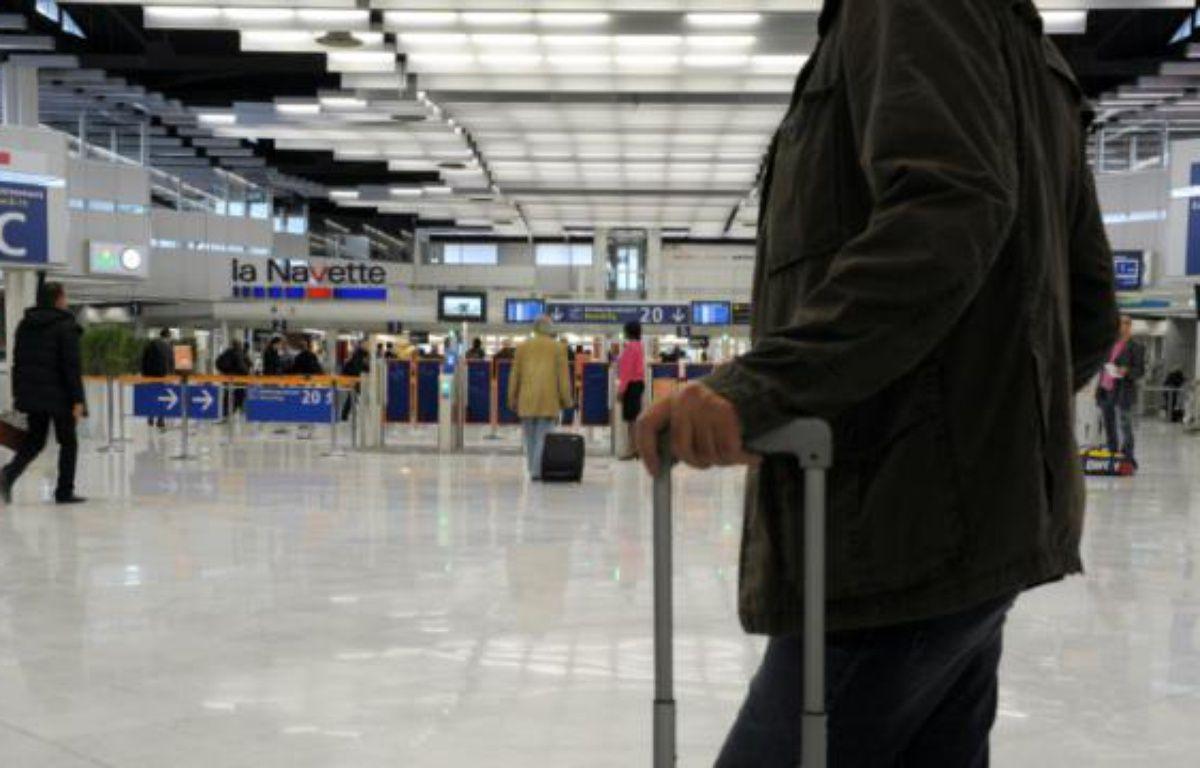 Un des halls de l'aéroport Orly en 2012 – Eric Piermont AFP
