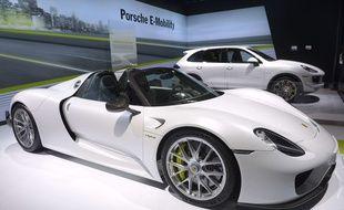 lllustration Porsche.