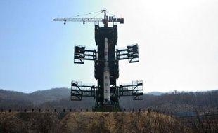 """La Corée du sud s'est dite """"profondément inquiète"""" après l'annonce samedi par la Corée du nord du prochain lancement d'une fusée porteuse selon Pyongyang d'un satellite civil, sept mois après l'échec d'un précédent tir similaire considéré par les Occidentaux comme le test déguisé d'un missile longue portée à capacité nucléaire."""
