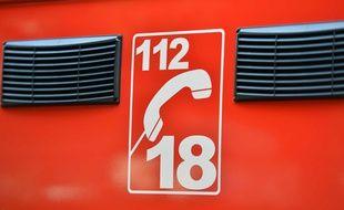 Le numéro 18 des pompiers