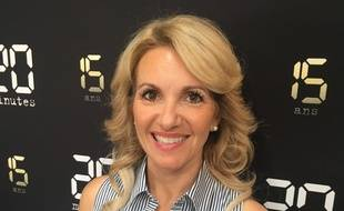 Christine Michaud dans les locaux de «20 Minutes» le 22 juin 2017