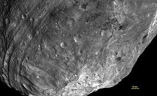 Des images de l'astéroïde Vesta, capturée le 23 juillet 2011 par la Nasa.