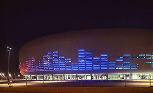 Première mise en lumière de l'Arena de Bordeaux Métropole