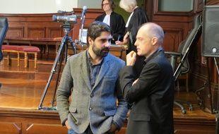 Fabrice Arfi et Fabrice Lhomme, journalistes à Médiapart au moment de l'affaire.