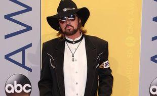 Le chanteur Billy Ray Cyrus aux 50e CMA Awards à Nashville