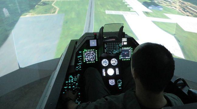 lyon on a test pour vous le simulateur d 39 avion de chasse. Black Bedroom Furniture Sets. Home Design Ideas