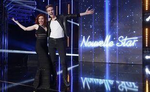 Emji et Mathieu, les deux finalistes de «Nouvelle Star» 2015.