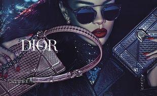 Rihanna dans la nouvelle campagne Dior.