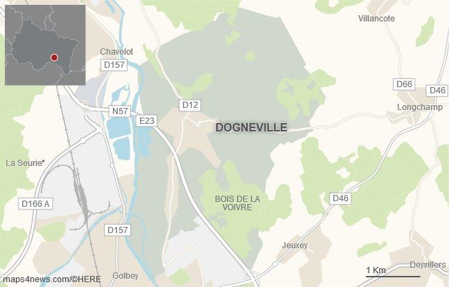 La commune de Dogneville, dans les Vosges.