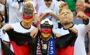 Des supporteurs allemands.