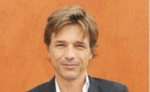 Guy Lagache en juin à Roland-Garros.