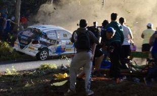 Une sortie de route fatale sur une épreuve locale de rallye en Espagne.
