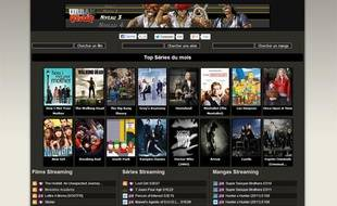 Un site de visionnage de films en streaming.