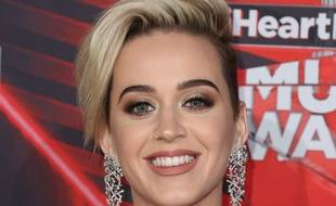 La chanteuse Katy Perry aux iHeartRadio Music Awards 2017