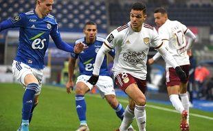 Hatem Ben Arfa, l'attaquant des Girondins de Bordeaux
