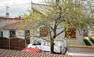 La maison aux Pavillon-sous-Bois, où ont été maltraités deux enfants durant plusieurs années.
