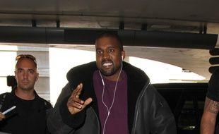 Kanye West à l'aéroport de Los Angeles en novembre dernier