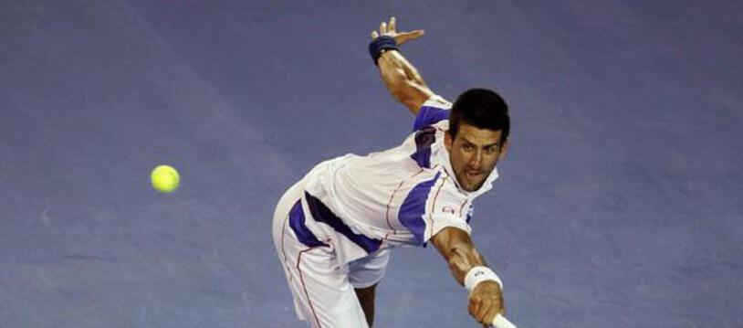 Le Serbe Novak Djokovic, le 25 janvier 2011 à Melbourne