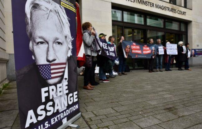 Julian Assange: Son extradition vers les Etats-Unis décidée en février 2020
