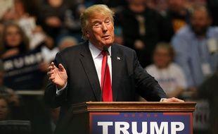 Le candidat républicain à la présidentielle américaine, Donald Trump, lors d'un meeting dans le Mississippi, le 2 janvier 2016.