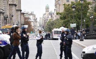 Un agent administratif a attaqué à l'arme blanche plusieurs policiers à la préfecture de police, le 3 octobre 2019.