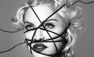 La couverture du disque Rebel Heart de Madonna.