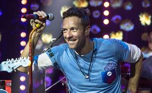 Chris Martin, le leader de Coldplay, le 5 décembre 2015. Brian J Ritchie/REX Shutterstock