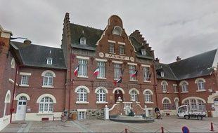 L'hôtel-de-ville de Biache-Saint-Vaast dans le Pas-de-Calais.